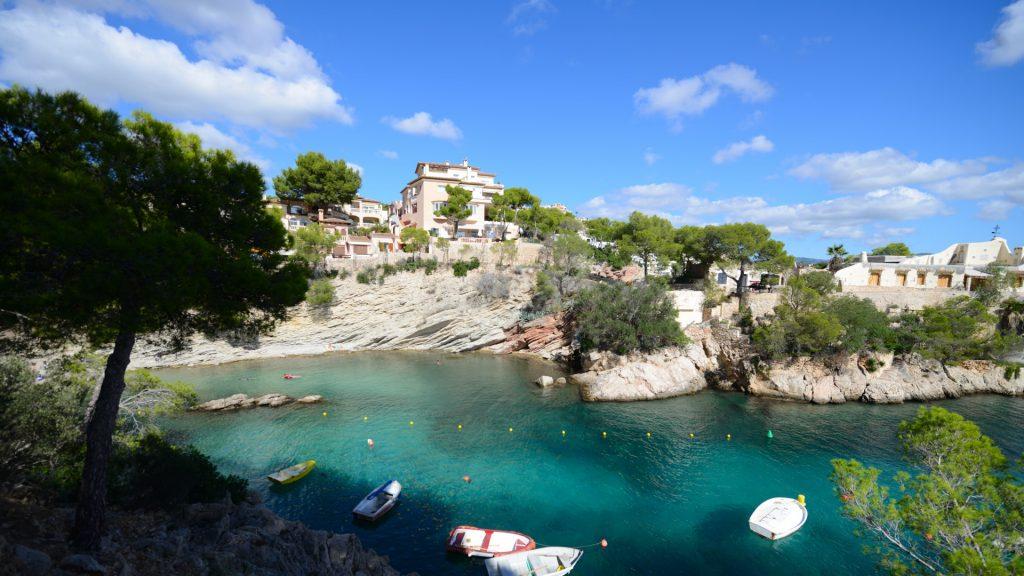 Mallorca Cala Fornells nördlichste Bucht